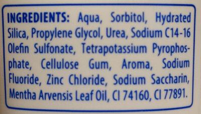 Coolfresh - Ingredients - de