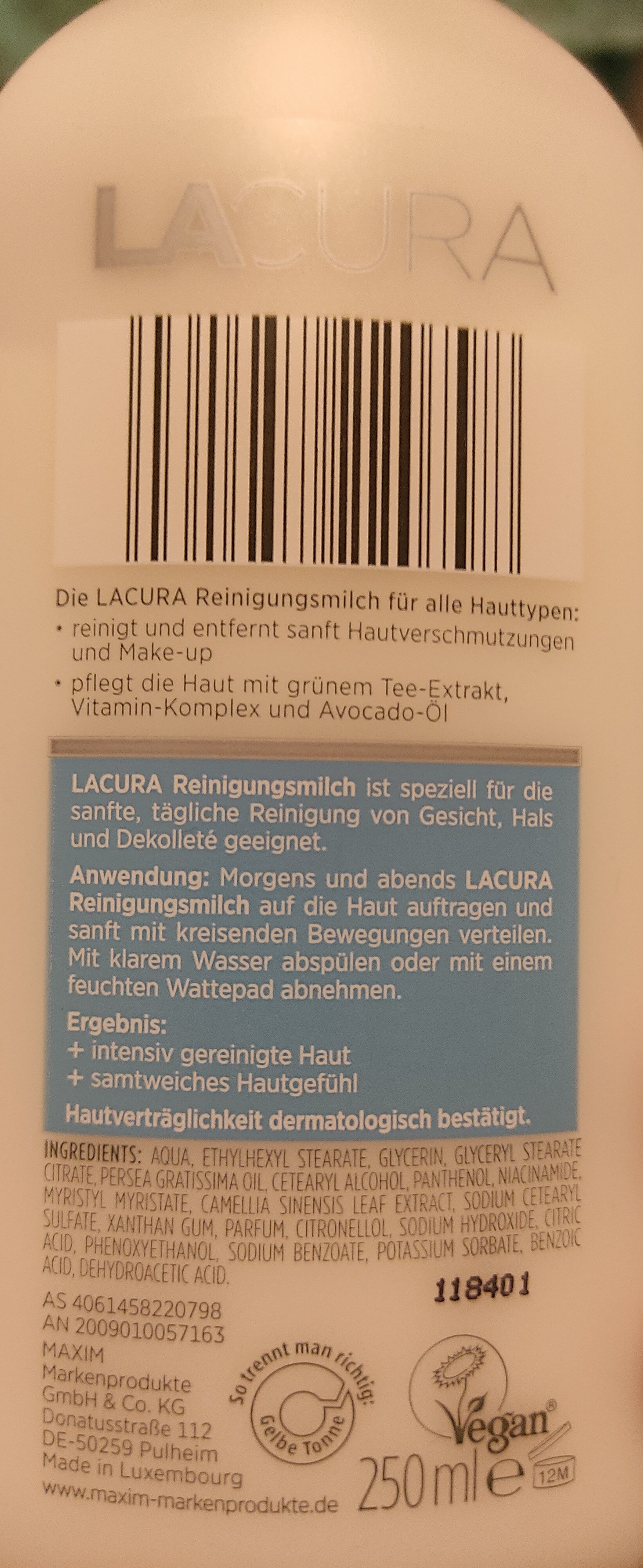 Reinigungsmilch Classic - Product - en
