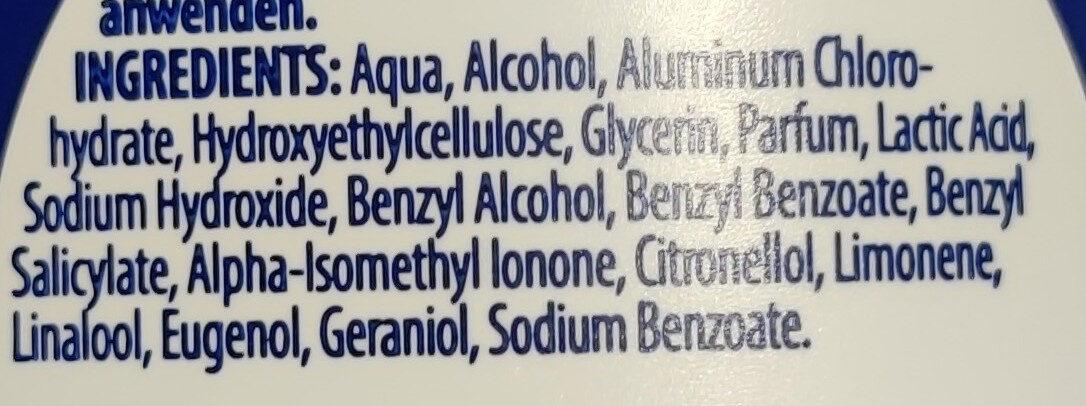 Anti-Transpieant - Ingredients - de