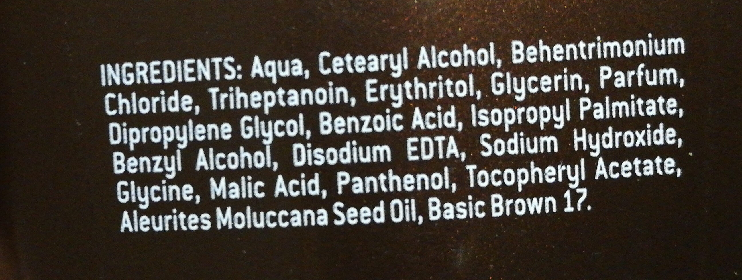 BRAUN Faszination - Ingredients - de