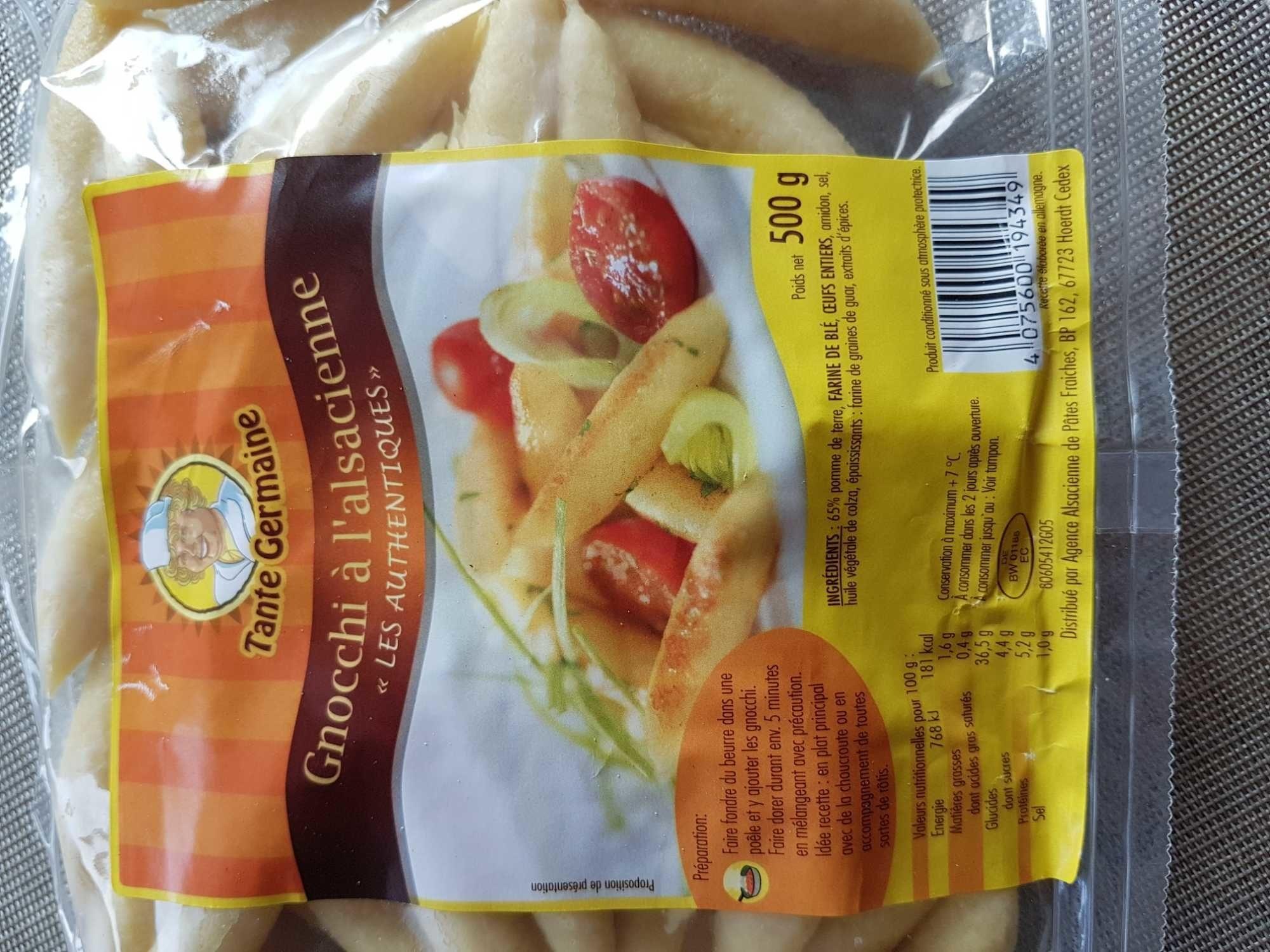 Gnocchi a l'alsacienne - Product - fr