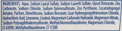 for men - Ingredients