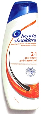Shampooing antipelliculaire + soin après shampooing 2 in 1 anti-chute - Produit