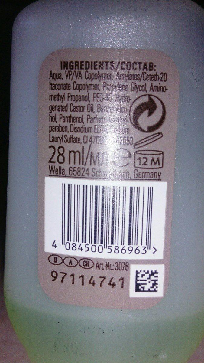 EIMI - Ingredients - fr