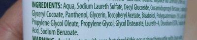 Lacura moisturising face wash - Ingredients - en