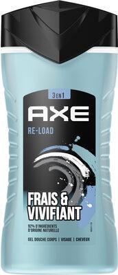 AXE Gel Douche Homme 3en1 Re-Load Frais et Vivifiant - Product - fr