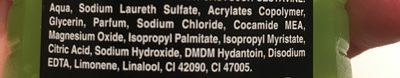 Axe SG - Ingredients