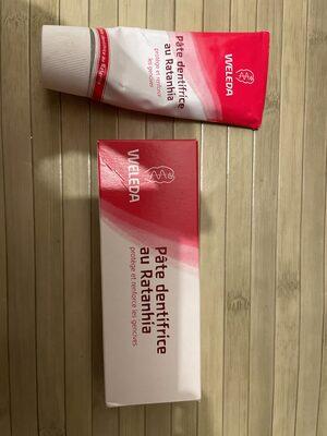 Pâte dentifrice au Ratanhia - Product - fr