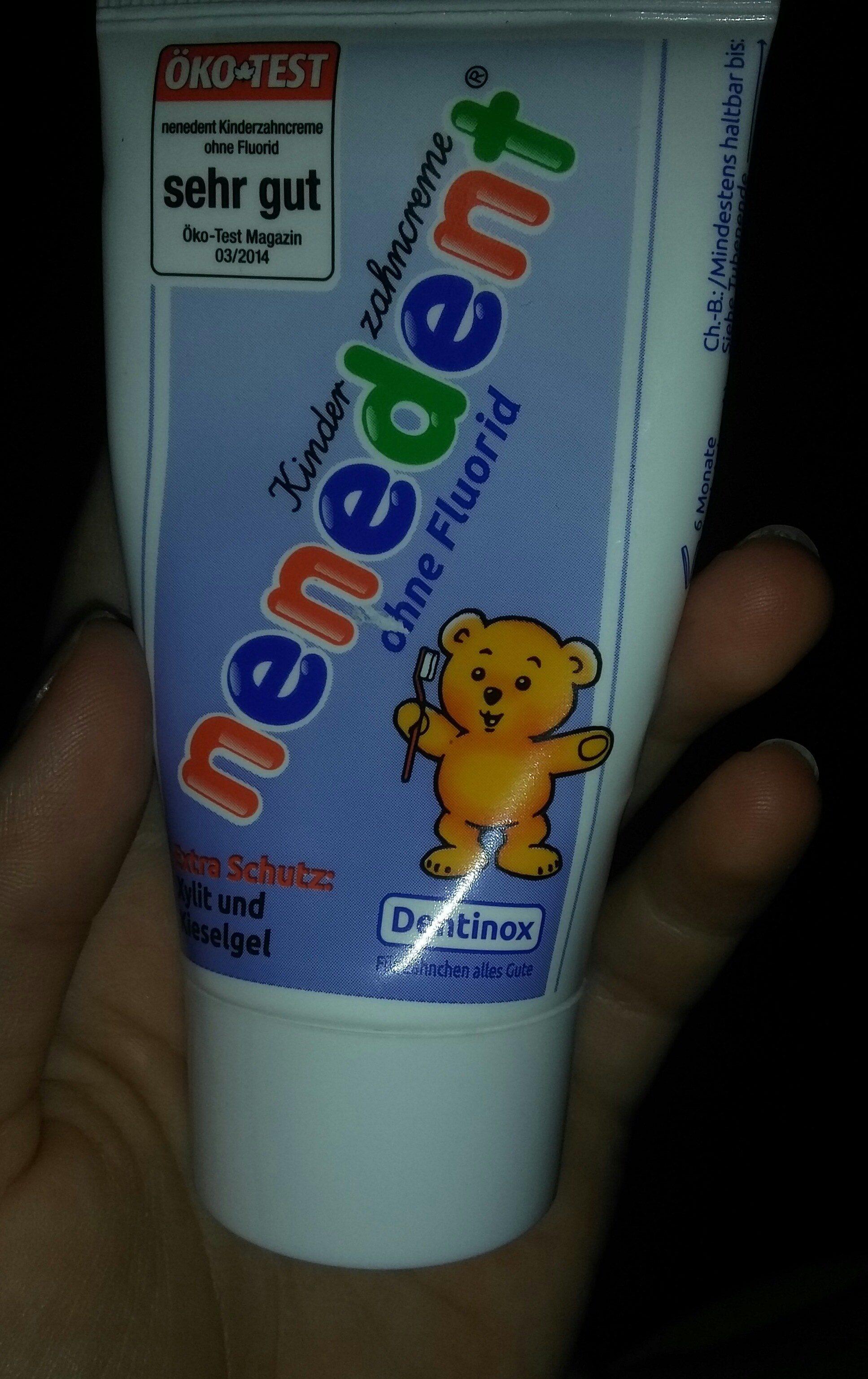 nenedent Zahnpasta ohne Flurid - Product - de