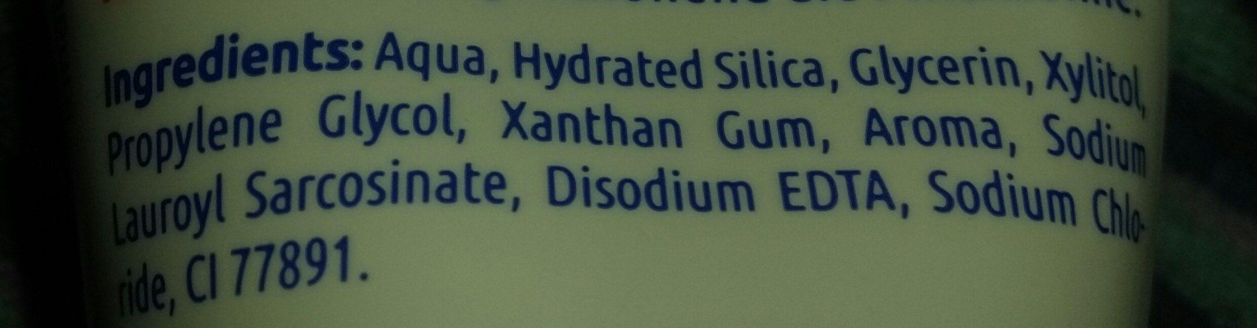 nenedent Zahnpasta ohne Flurid - Ingredients