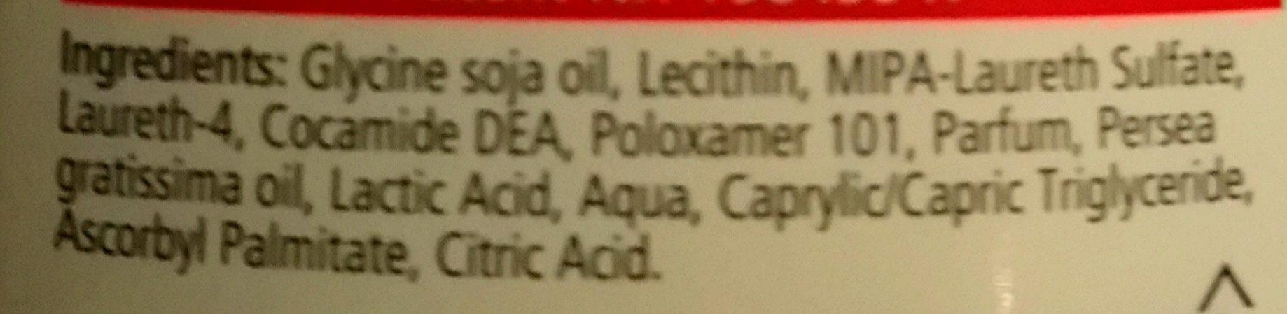Duschöl mit Avocadoöl und Lecithin - Ingredients - de