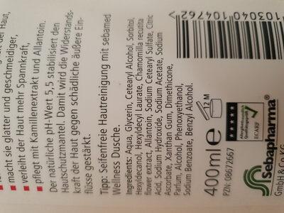 sebamed Lotion - Ingredients - de