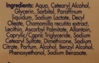 Baby Seba Med Baby Lotion - Ingredients - en