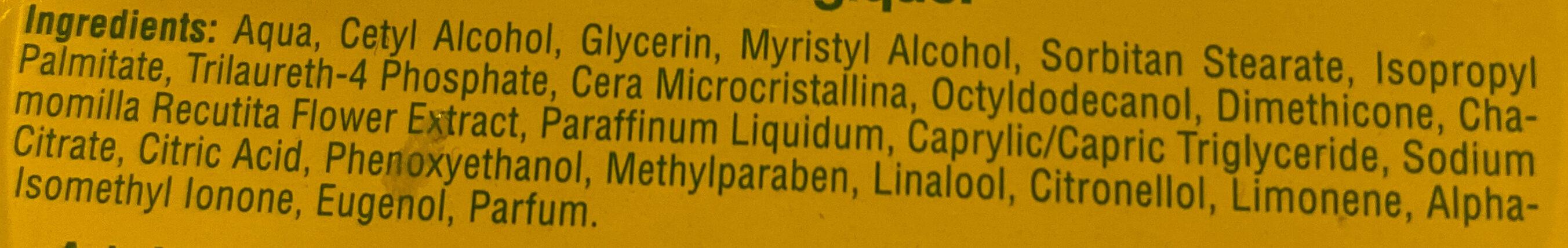 Attic - Ingredients - fr