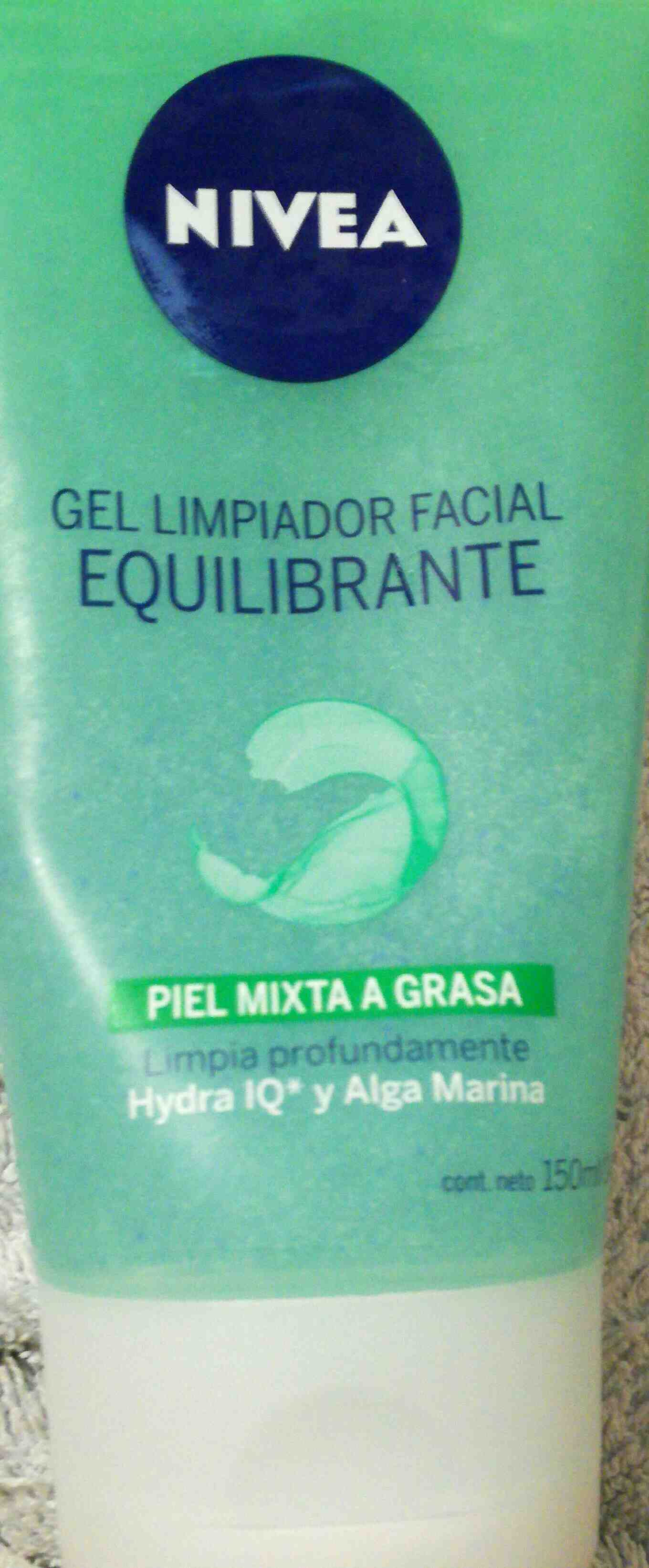nivea gel limpiador facial equilibrante - Product - en