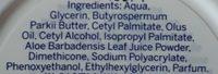 Sensitive - Ingredients - fr