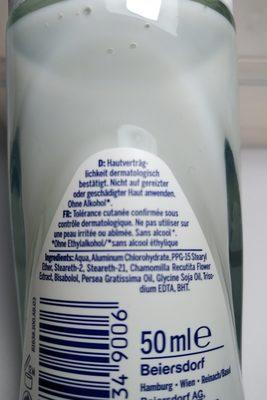 pure & sensitive - Ingredients