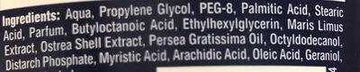 Fresh Active 0% - Ingredients