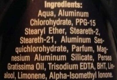Dry Fresh Real Life Tested 48h - Ingredients - en