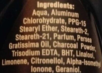 Deep Dry & Fresh Feeling 48h - Ingredients - en