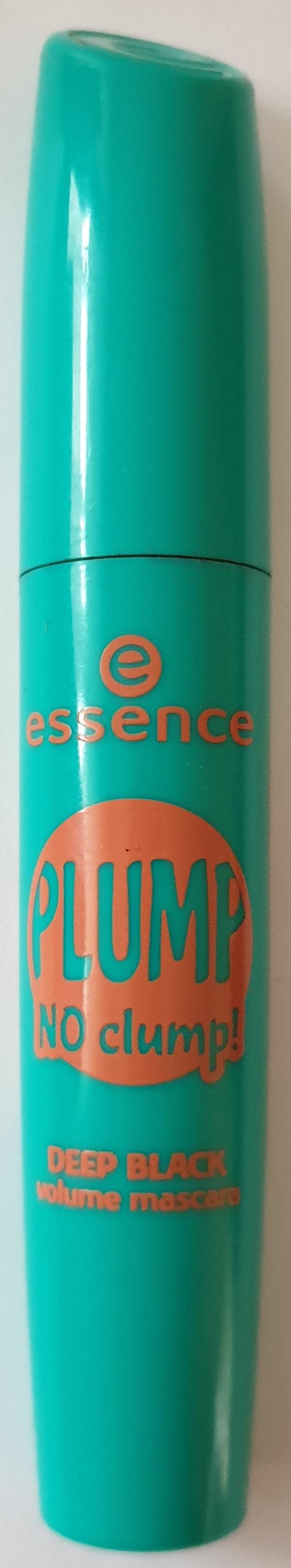 Plump no clump! Deep black volume mascara - Product - de