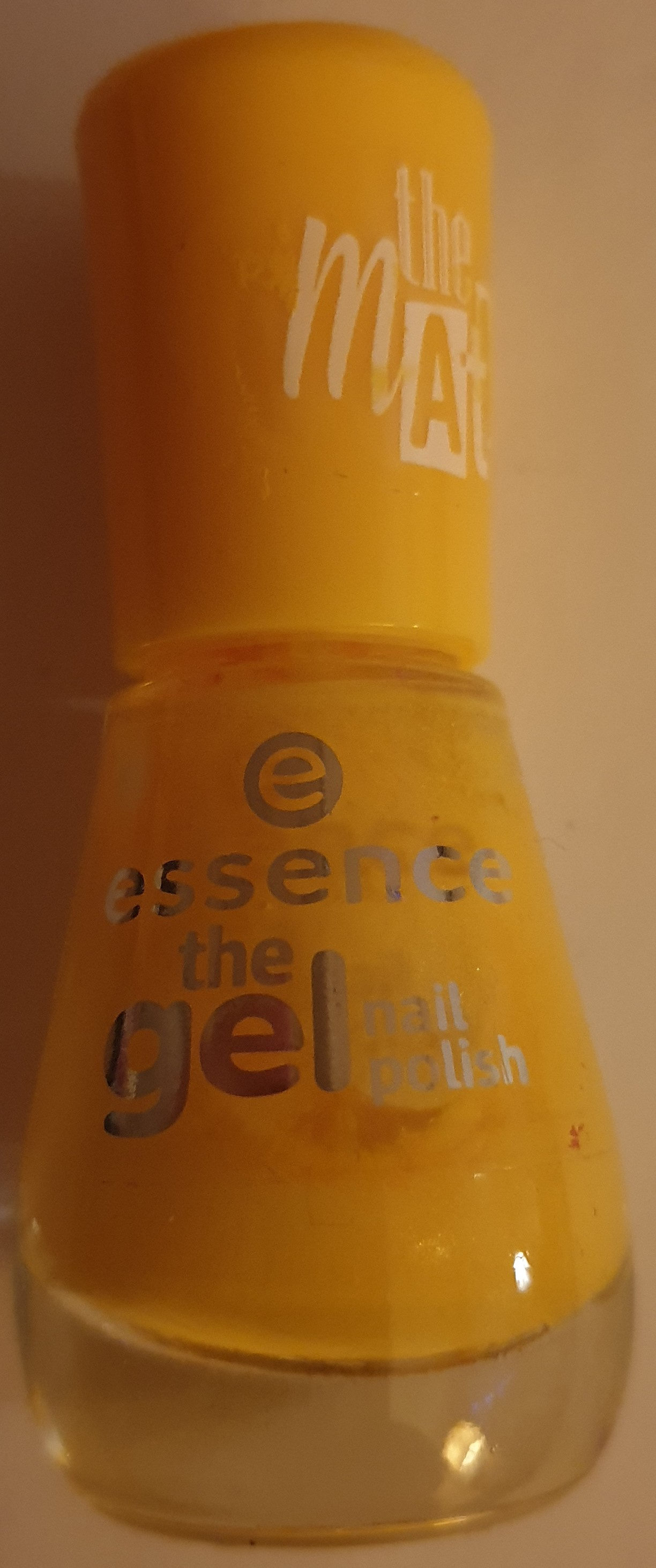 the gel nail polish the matt 28 hello sunshine - Product - de
