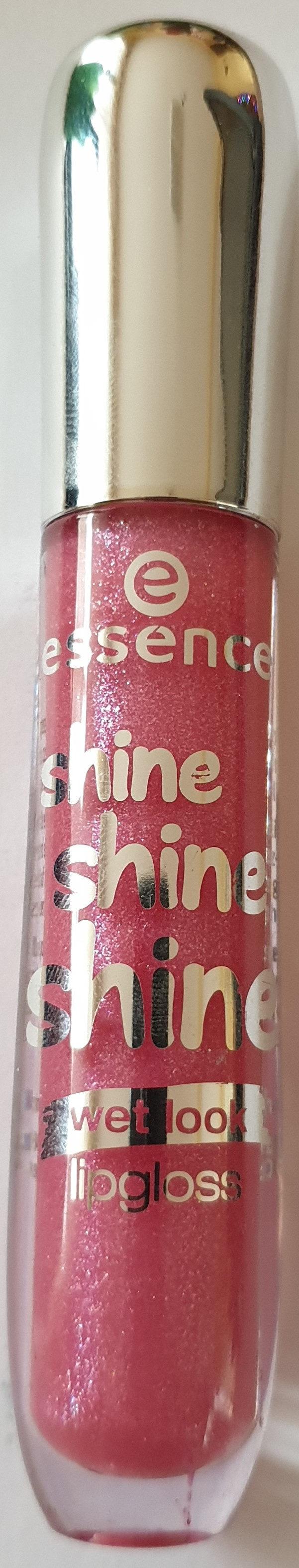 shine shine shine wetlook lipgloss 03 friends of glamour - Product