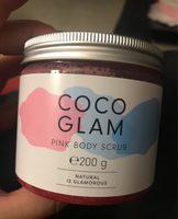 Hello Body Coco Glam Pink Body Scrub - Produit