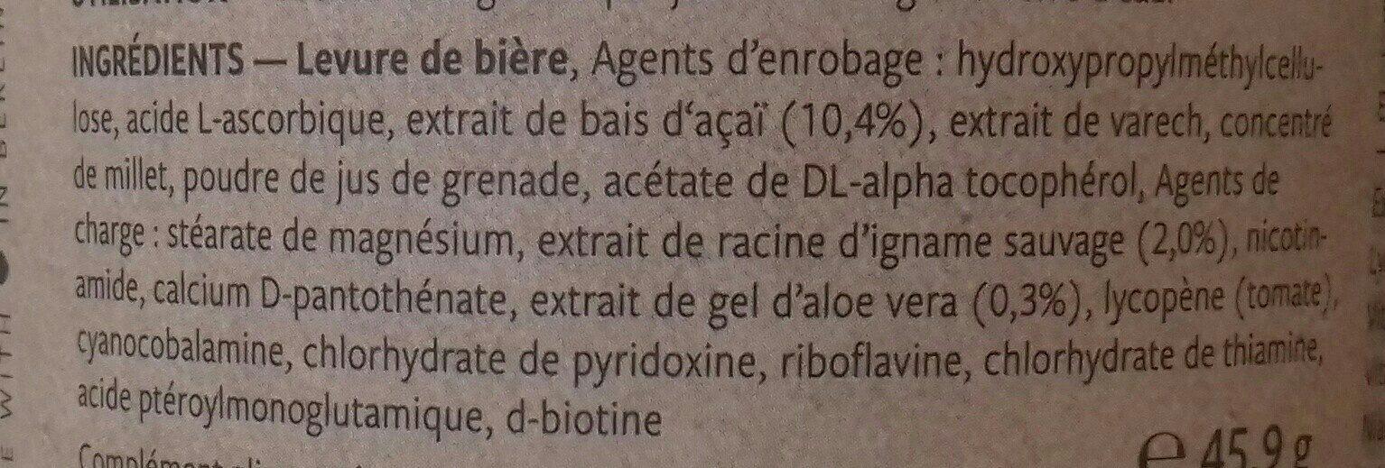 Skin beauty - Ingredients - fr