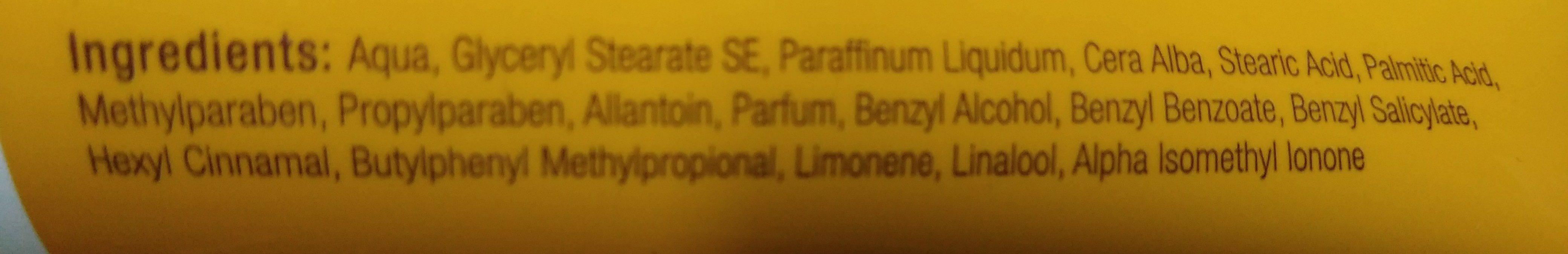 Hautschutz- und Hautpflegecreme mit Bienenwachs - Ingredients - de