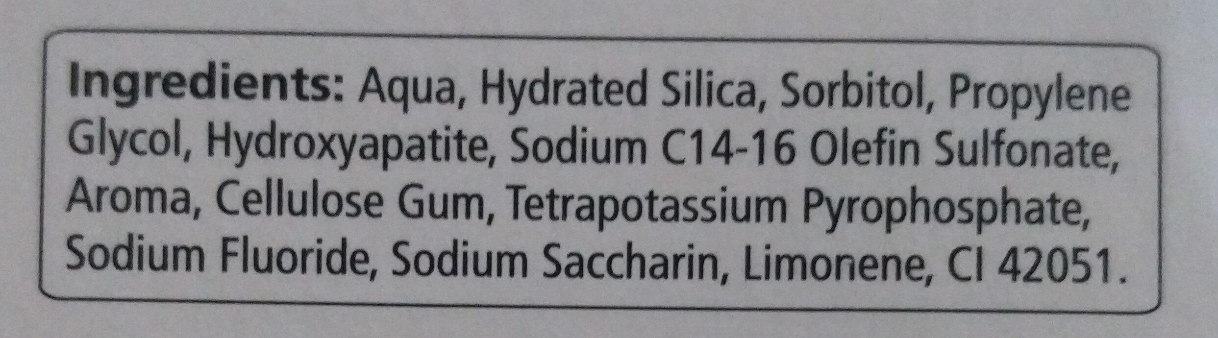 Care Polish (Flüssiger Zahnschmelz) - Ingredients - de