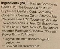 Classic - soin hydratant à l'huile de jojoba bio - Ingredients - fr