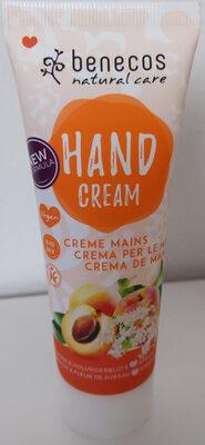 Crème Mains Bio Abricot & Fleur De Sureau - 75ML - Benecos - Product - fr