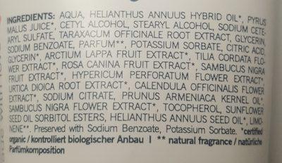 Crème Mains Bio Abricot & Fleur De Sureau - 75ML - Benecos - Ingredients - fr