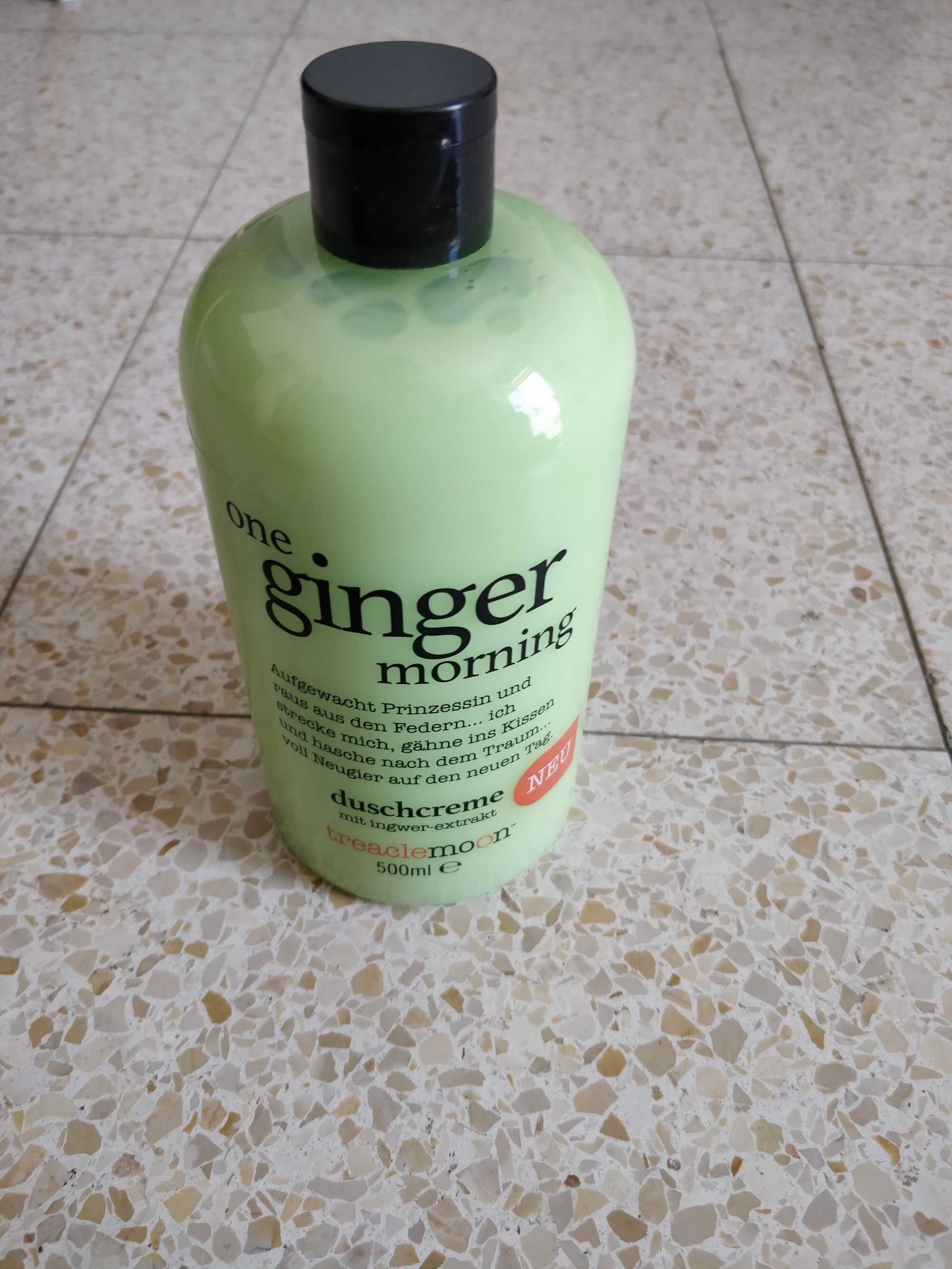 One ginger morning - Product