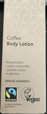 Coffee body lotion - Product - de