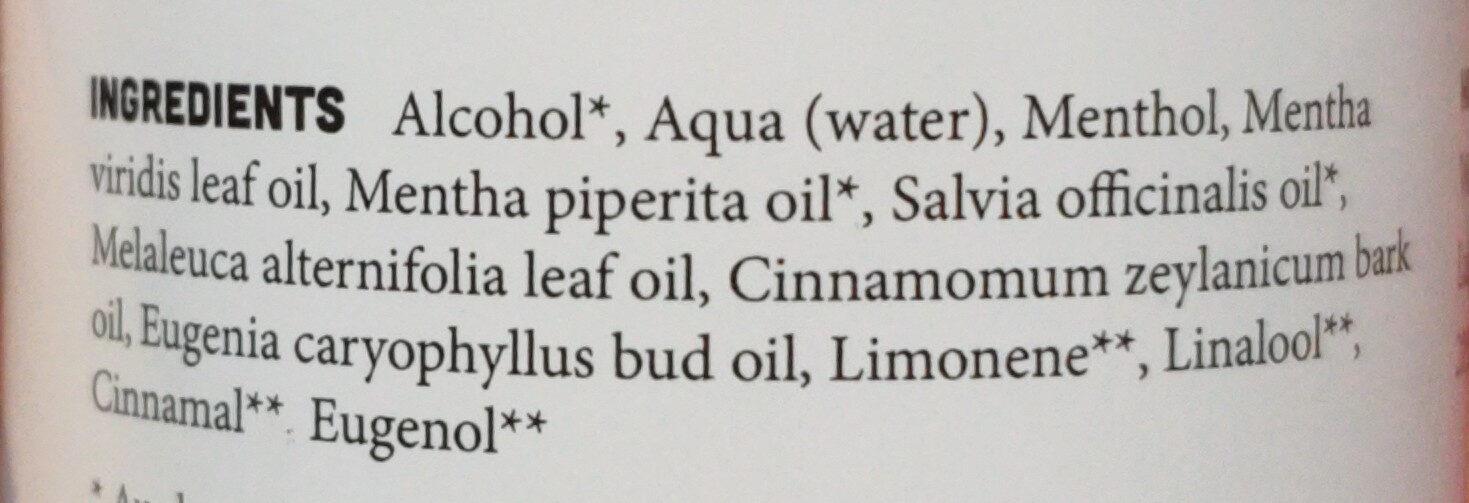 Kräuter-Mundwasser-Essenz - Ingredients - de