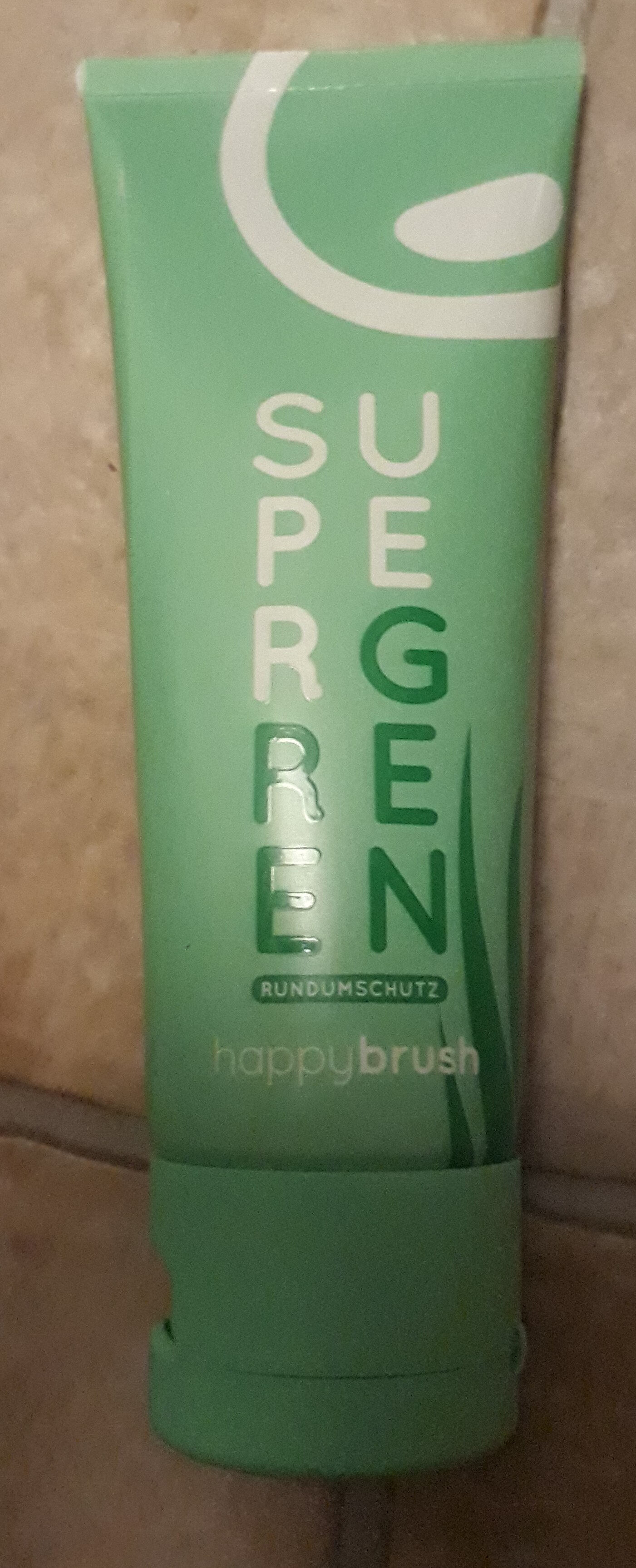 super green Zahnpasta - Product - de
