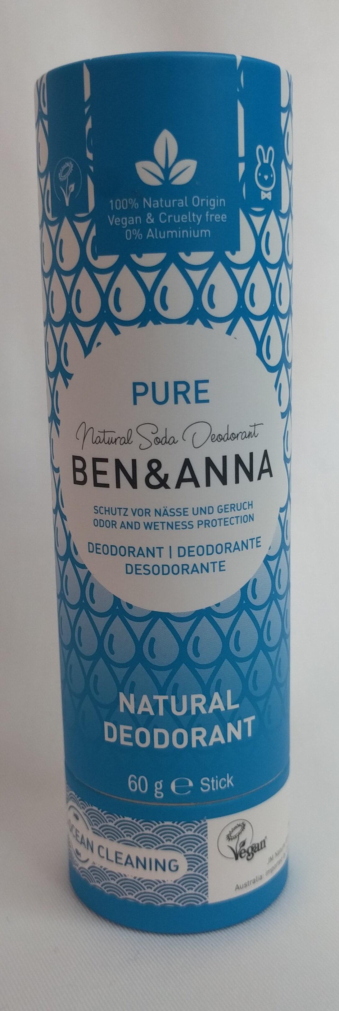 Natural Deodorant PURE - Product - de