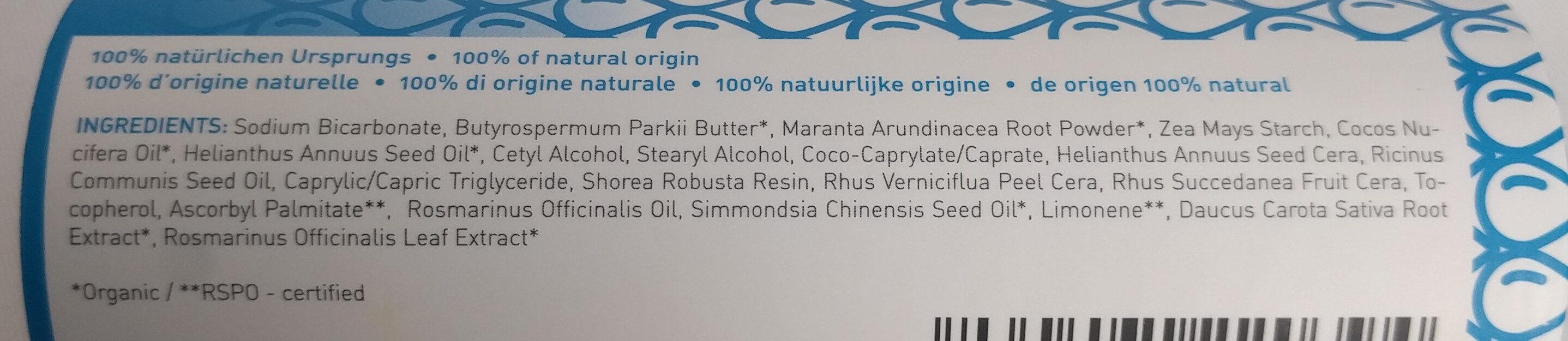 Natural Deodorant PURE - Ingredients - de