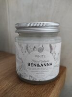 Natural Toothpaste White - Product - fr