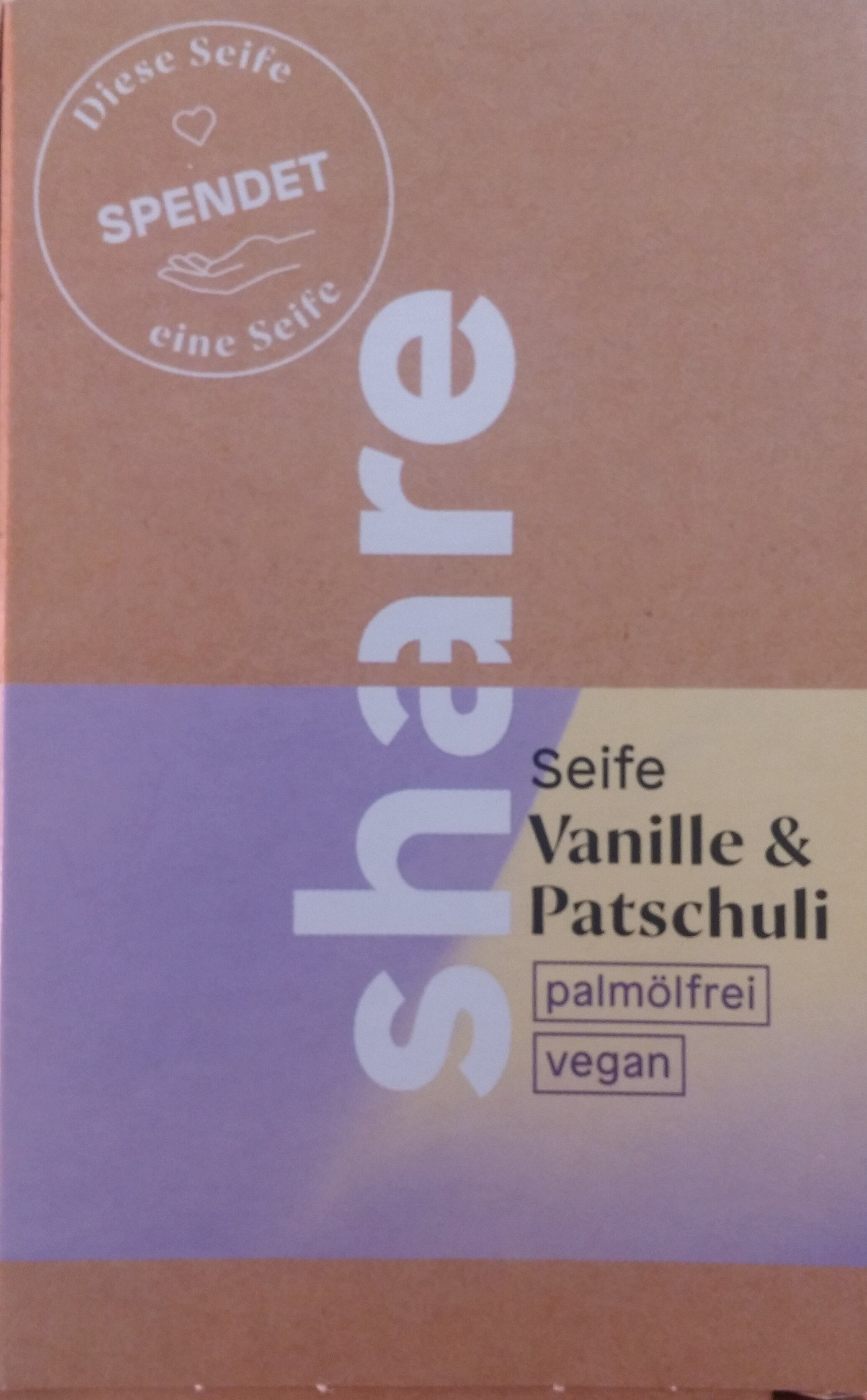 Seife Vanille & Patschuli - Product - de