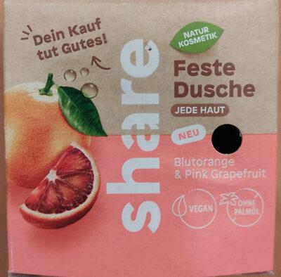Feste Dusche Blutorange & Grapefruit - Product - de