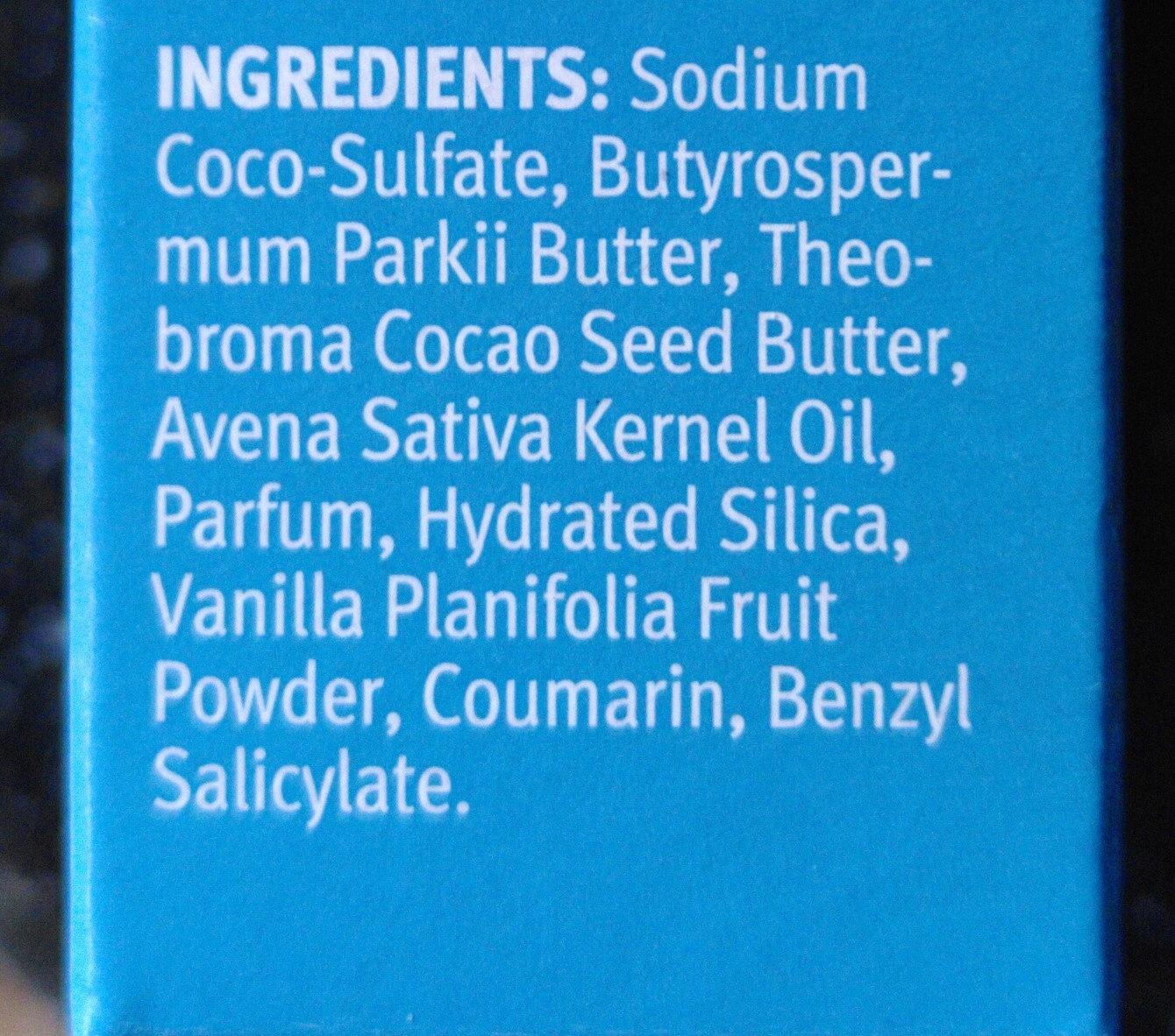 Festes Shampoo - Ingredients - de