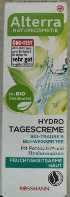 Hydro Tagescreme Bio-Traube & Bio-Weisser Tee - Produit - de