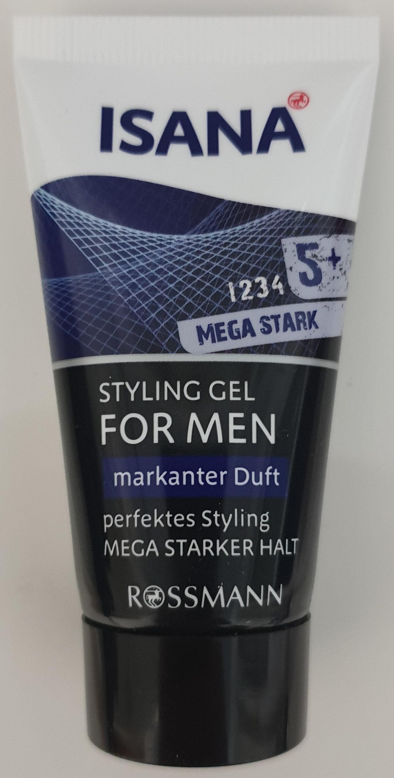 Styling Gel for men 5+ mega stark - Produit - de