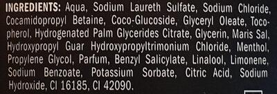 Duschgel herbe Frische - Ingredients