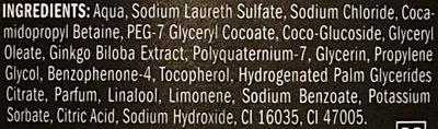 Duschgel sport [3in1] - Ingredients