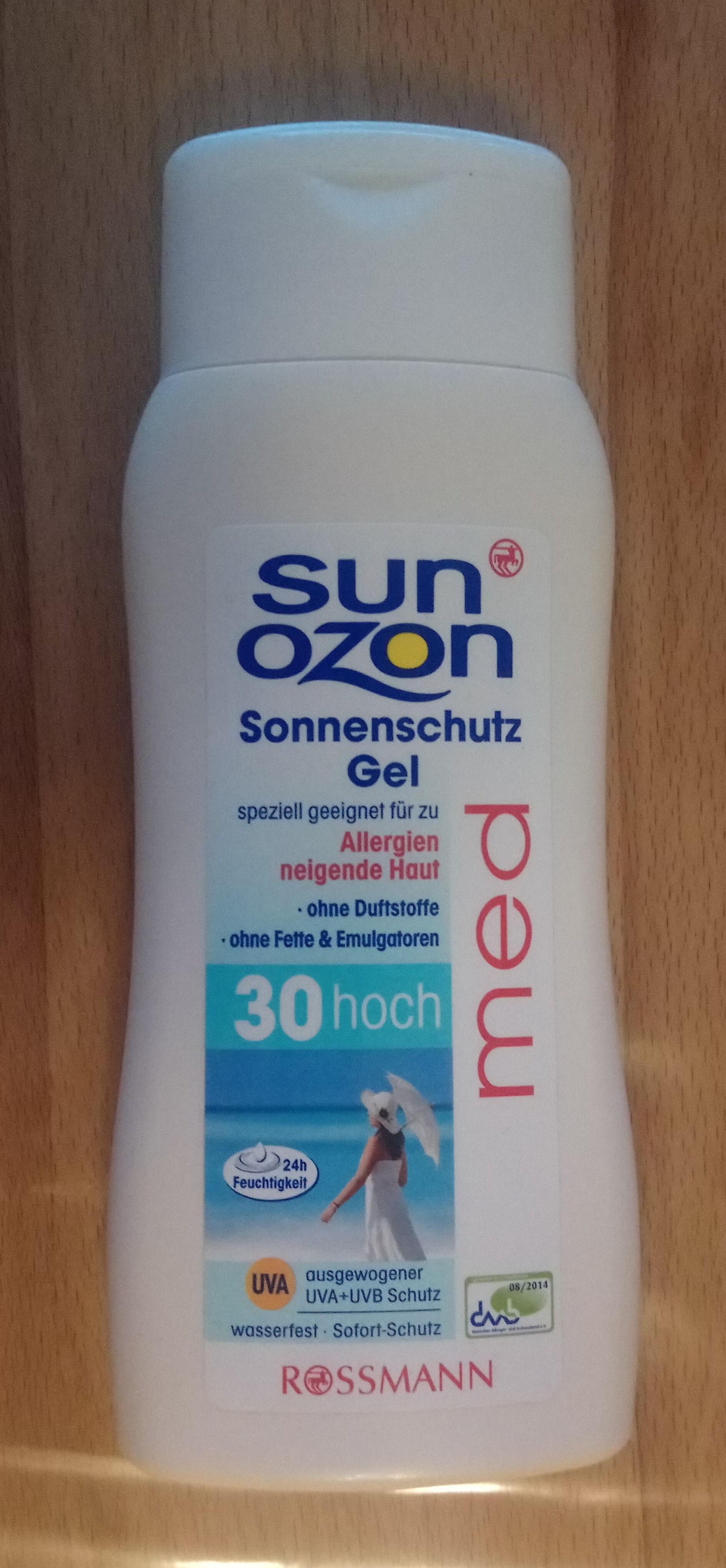 Sonnenschutz Gel Med LSF 30 - Product