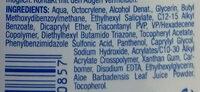 Sonnenschutz Gel Med LSF 30 - Ingredients